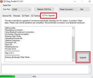 Easydiag 2.0: восстановление залоченного адаптера