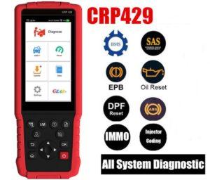 Обзор возможностей сканера Launch CRP 429 (с видео)