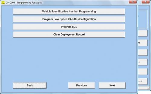 Активация сигнализатора непристёгнутого ремня безопасности у Opel