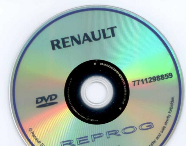 База прошивок Renault Reprog 172