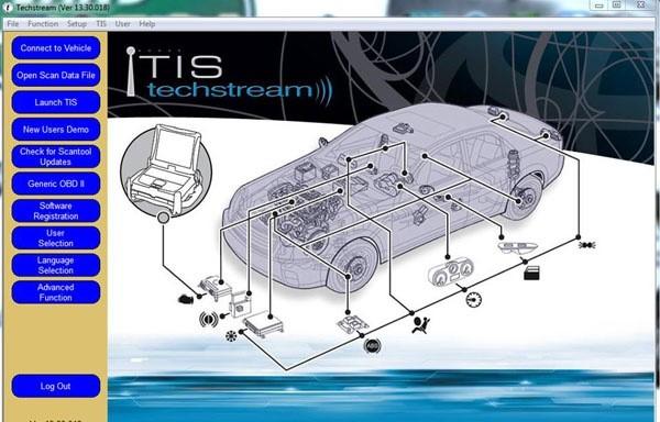 Программа Toyota Techstream 13.30.018 [2018/12] Скачать