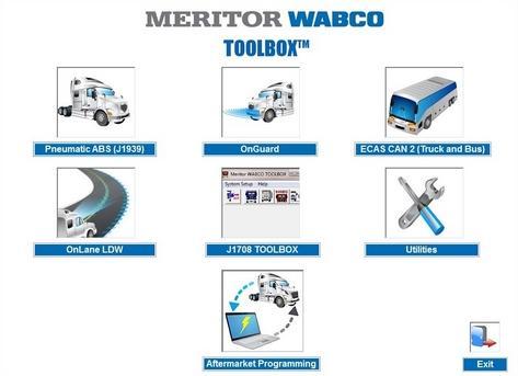 Программа Wabco Toolbox 12.3 Full
