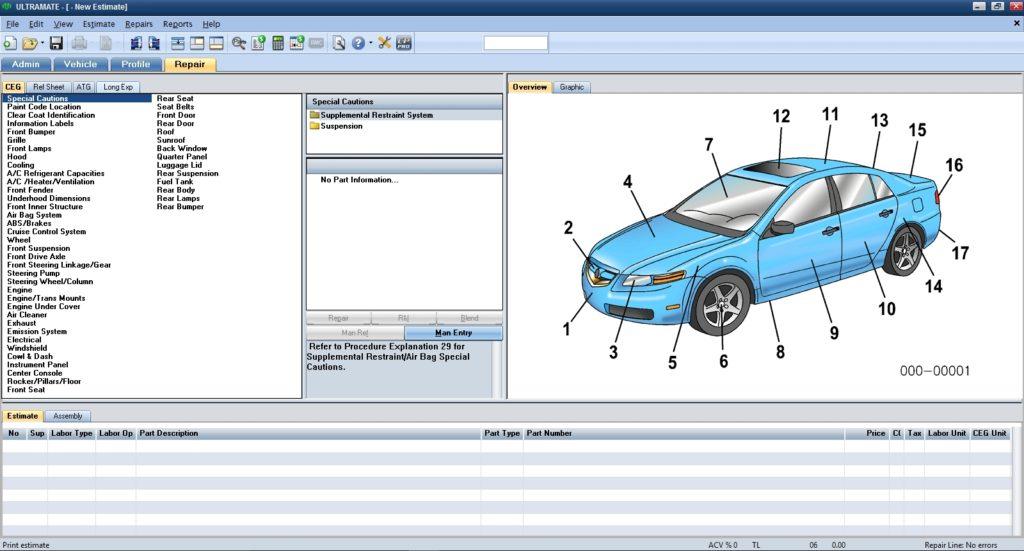 Программа Mitchell Ultramate 7.1.238 (01.2020)[ENG]